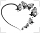 Serce ze motyli NS42
