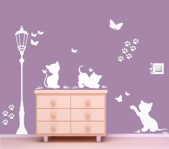 Koty przy latarni NK1