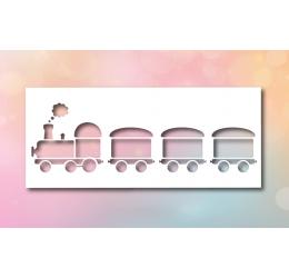 Szablon malarski ciągnik
