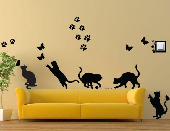 Koty na płocie NK3