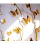 Lustrzane zielone motylki 3D