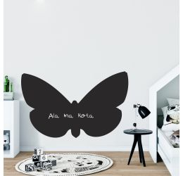 Naklejka tablica motyl