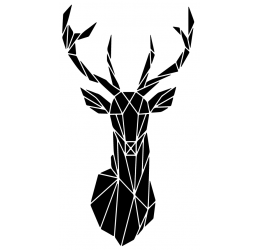 Geometryczny jeleń