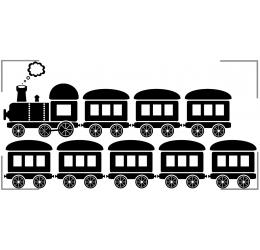 Szablon malarski transport