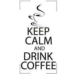 Szablon malarski dzień bez kawy...