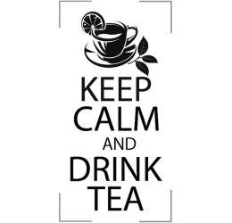 Szablon malarski keep calm...