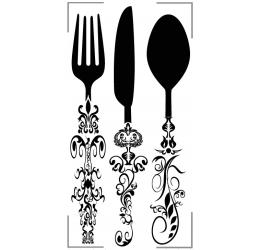 Szablon malarski Kitchen is...