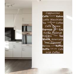 Napisy Cappucino caffee NKU32