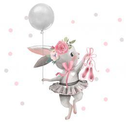 Króliczek z balonikami