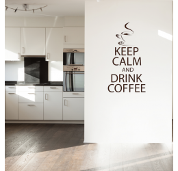 Keep calm and drink coffee NKU49