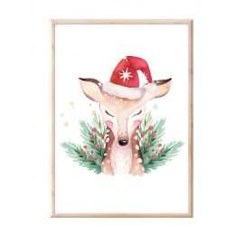 Plakat świąteczny