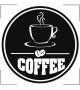 Serce z ziaren kawy NKU112