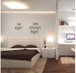 Mr Right Mrs Always Right NS24